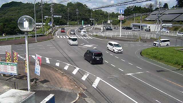 国道165号(すずらん台口) 映像